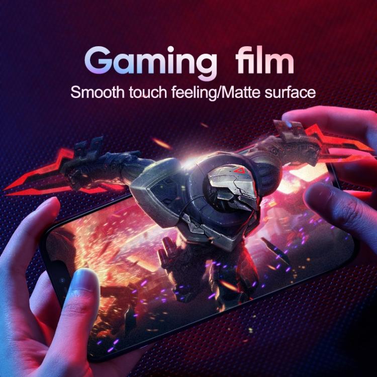 JOYROOM Knight Series 2.5D Big Screen HD Gaming Film Tempered Glass Film for iPhone 12 Pro Max
