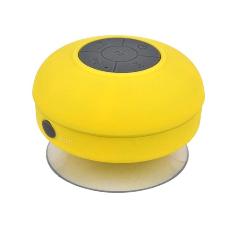 Mini Portable Subwoofer Shower Wireless Waterproof Bluetooth Speaker (Rose)