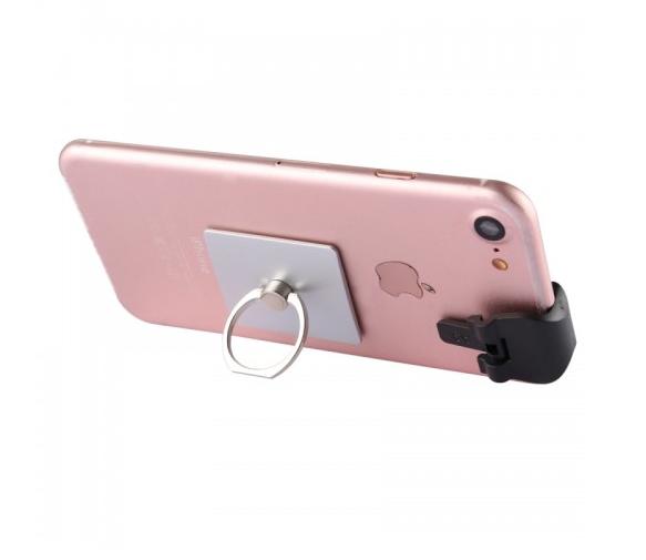 A9 Direct Mobile Clip Games Joystick (Silver)