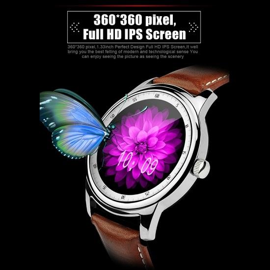 DOMINO DM365 1.33 inch Smart Watch Gold