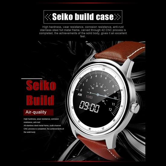 DOMINO DM365 1.33 inch Smart Watch Black