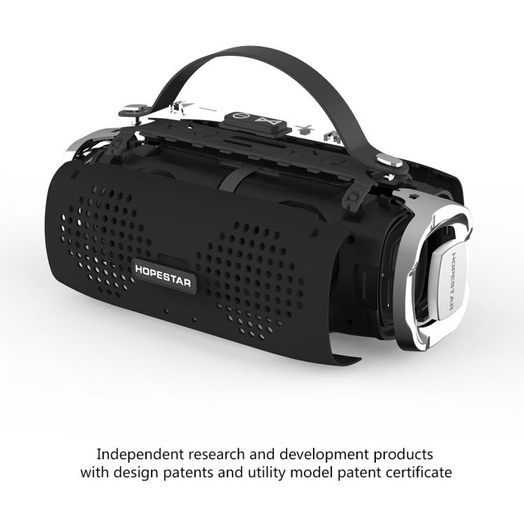 HOPESTAR H24 Mini Portable Rabbit Wireless Waterproof Bluetooth Speaker (Red)