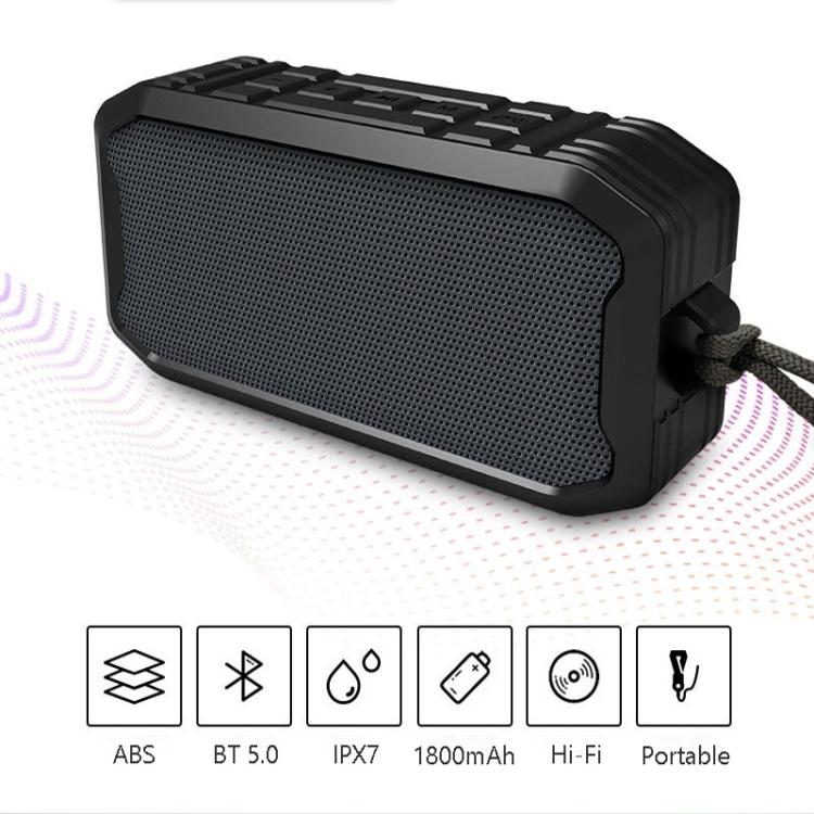 M3 Wireless Bluetooth Speakers Waterproof Portable Outdoor Loudspeaker Mini Box Speaker (Green)
