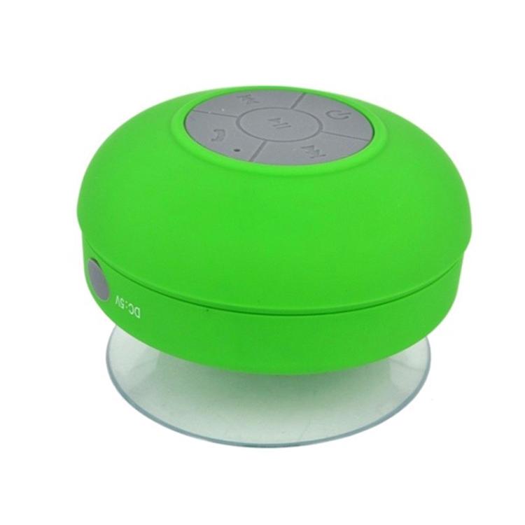 Mini Portable Subwoofer Shower Wireless Waterproof Bluetooth Speaker (Black)