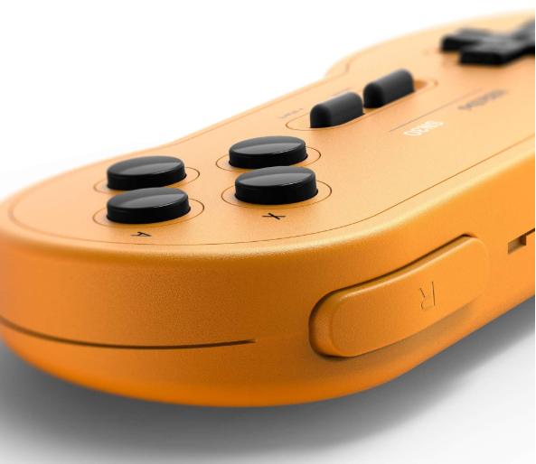 8BitDo SN30 Wireless Bluetooth Controller (Yellow)