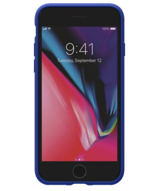 Adidas iPhone 8 Moulded Back Phone Case Blue
