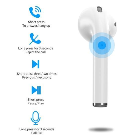 WIWU Air Solo Single Bluetooth 5.0 Earphone Left Ear (White)