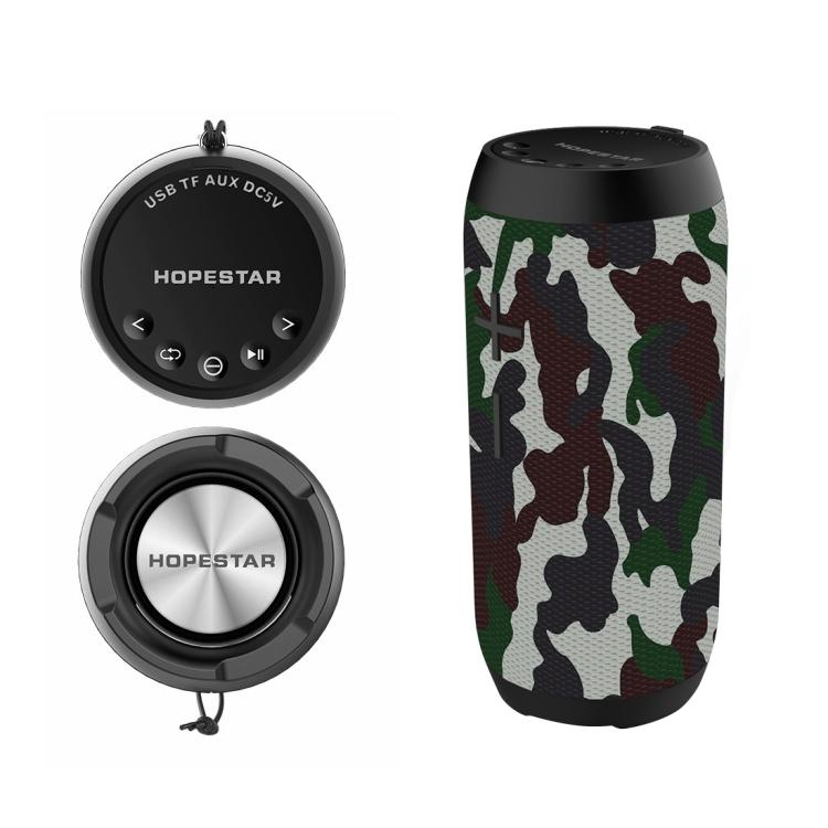 HOPESTAR P7 Mini Portable Rabbit Wireless Bluetooth Speaker (Army Green)