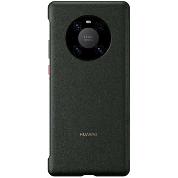 Huawei Mate 40 Pro Smart View Flip Phone Cover (Green)