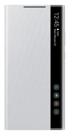 Samsung Galaxy Note 20 Ultra 5G Dual Sim N986BD 256GB Mystic White (12GB RAM) + FREE Samsung Galaxy Note 20 Ultra Clear View Phone Cover (White Silver)