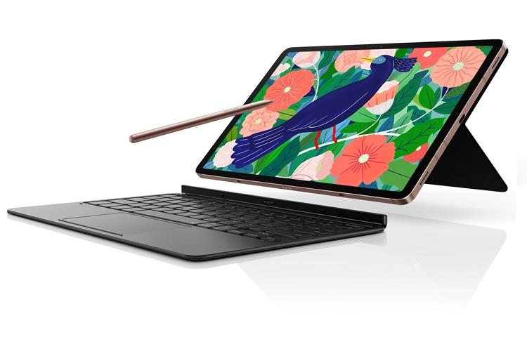 Samsung Galaxy Tab S7 Plus Keyboard Cover Black
