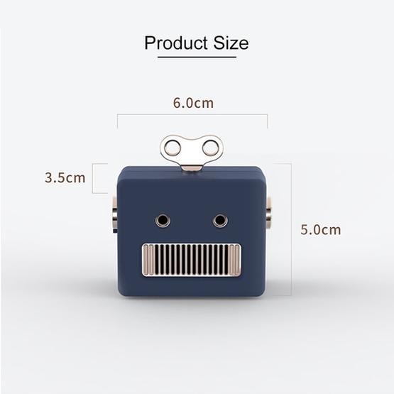3life-307 3W 5V Mini Robot Retro Wireless Bluetooth Speaker (Pink)