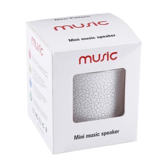 A9 Mini Portable Bluetooth Stereo Speaker(White)